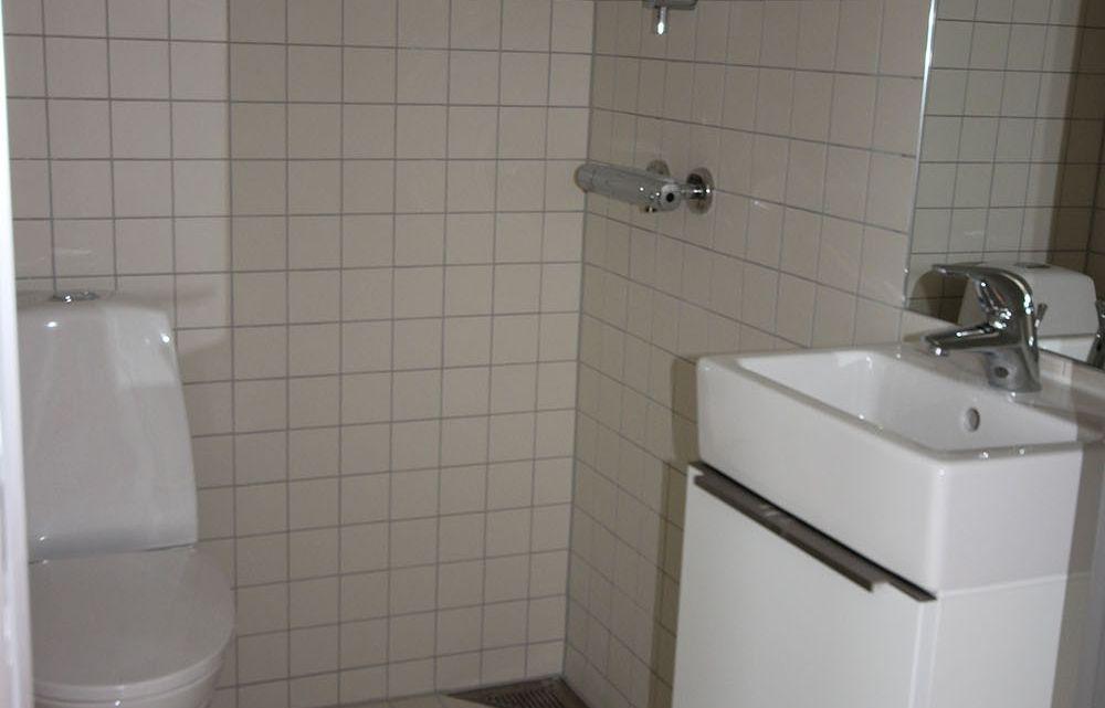 Ungdomsbolig badeværelse