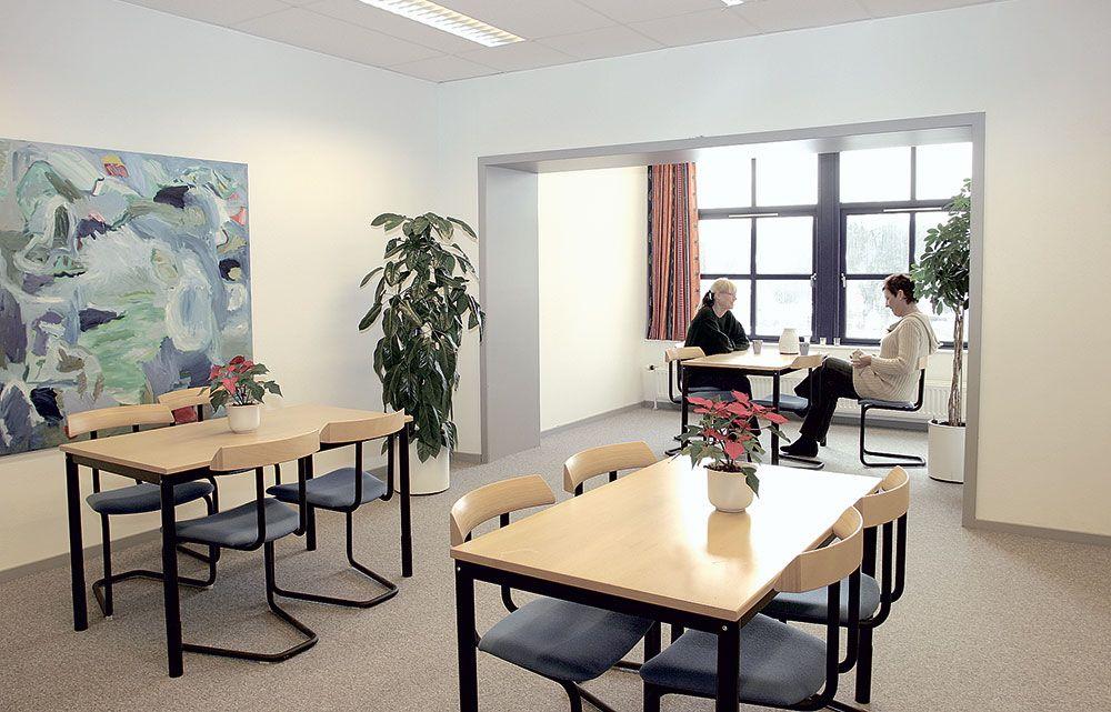 kontorfællesskab frokoststue