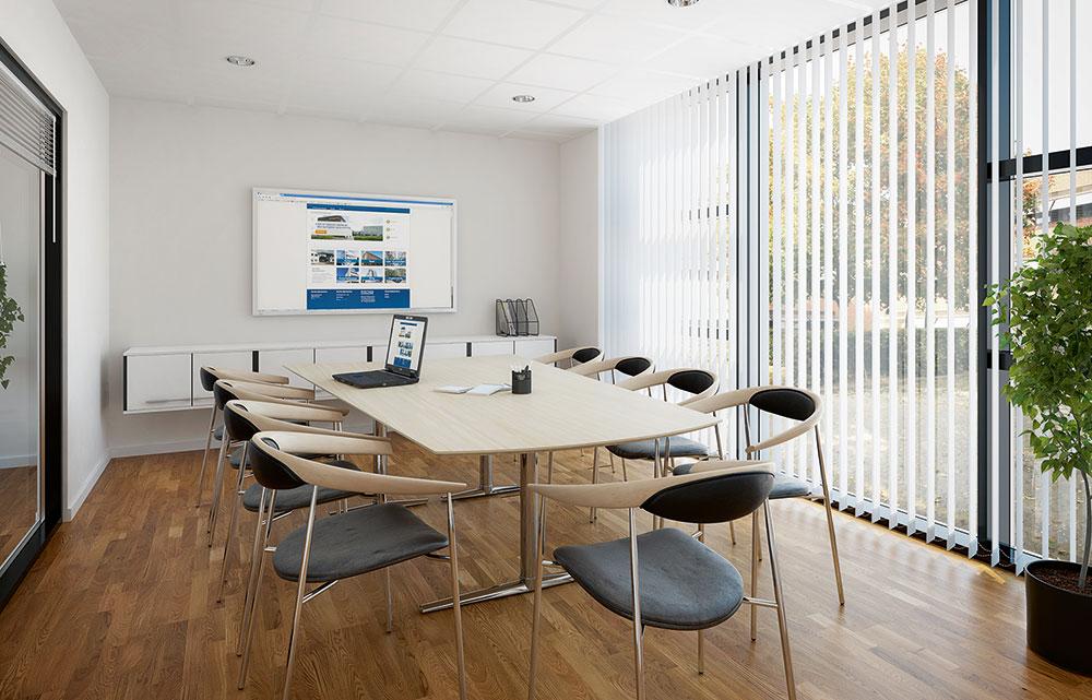 Erhvervsejendom, eksempel på mødelokale