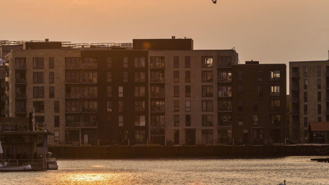 Ungdomsbolig midt i København med udsigt over vandet