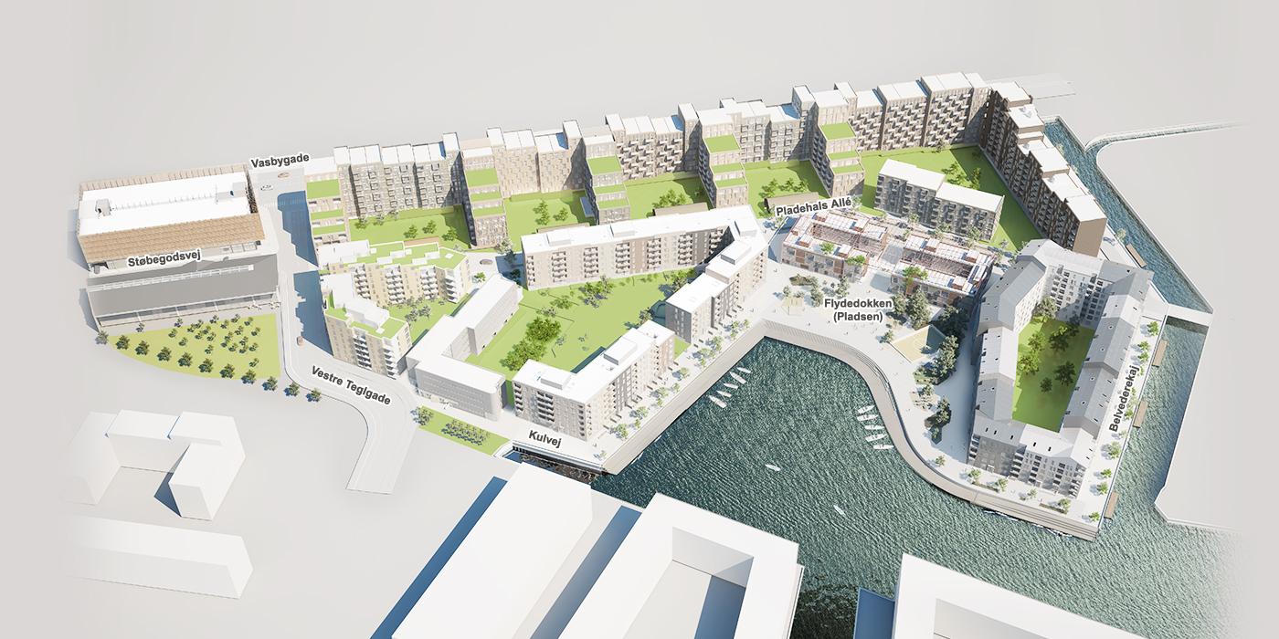 Lejlighed København – lejligheder til leje i nyt boligkvarter i København