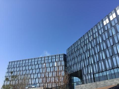 Nordea bank domicil Ørestad Nord facaden