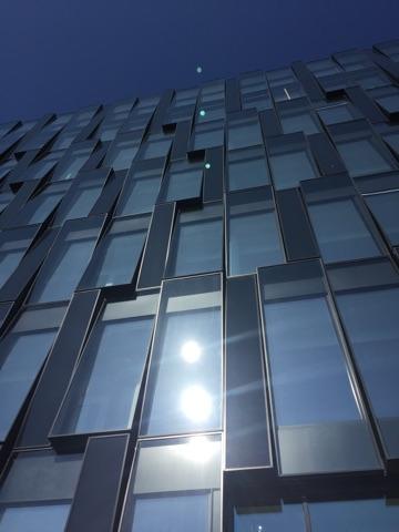 Nordea domicil Ørestad Nord facade glasparti