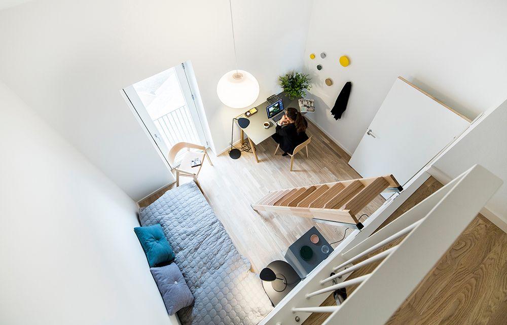 Frederiks Brygge, Flydedokken, Frederiksholmshuset, boliger, indretning