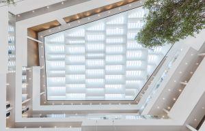 Nordeas nye hovedkontor i Ørestad er et ambitiøst bæredygtigt byggeri, der opnår den højeste miljøcertificering, LEED-Platinum