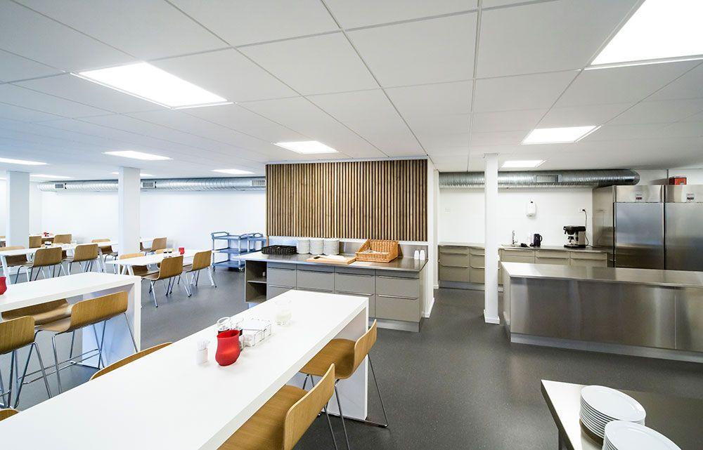 Roskildevej 16 - kontorlejemål 223 m2 med kantineordning